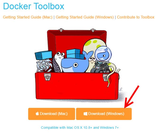How to install Docker on Windows behind a proxy