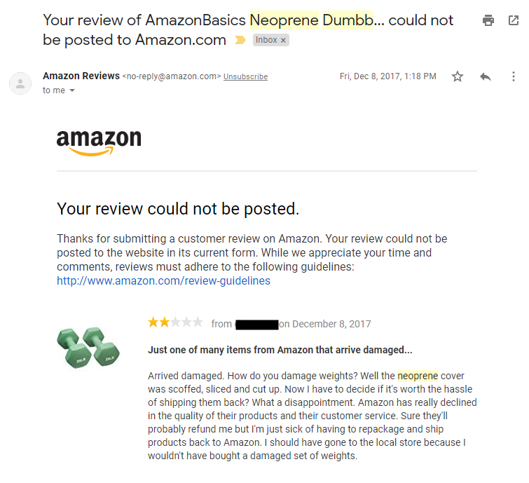 amazon-not-let-me-review-product